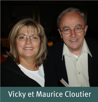 Fall 2013 - Vicky et Maurice Cloutier